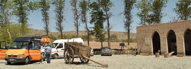 Plaza en los Valles Calchaquíes